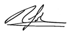 Richard Johns Signature